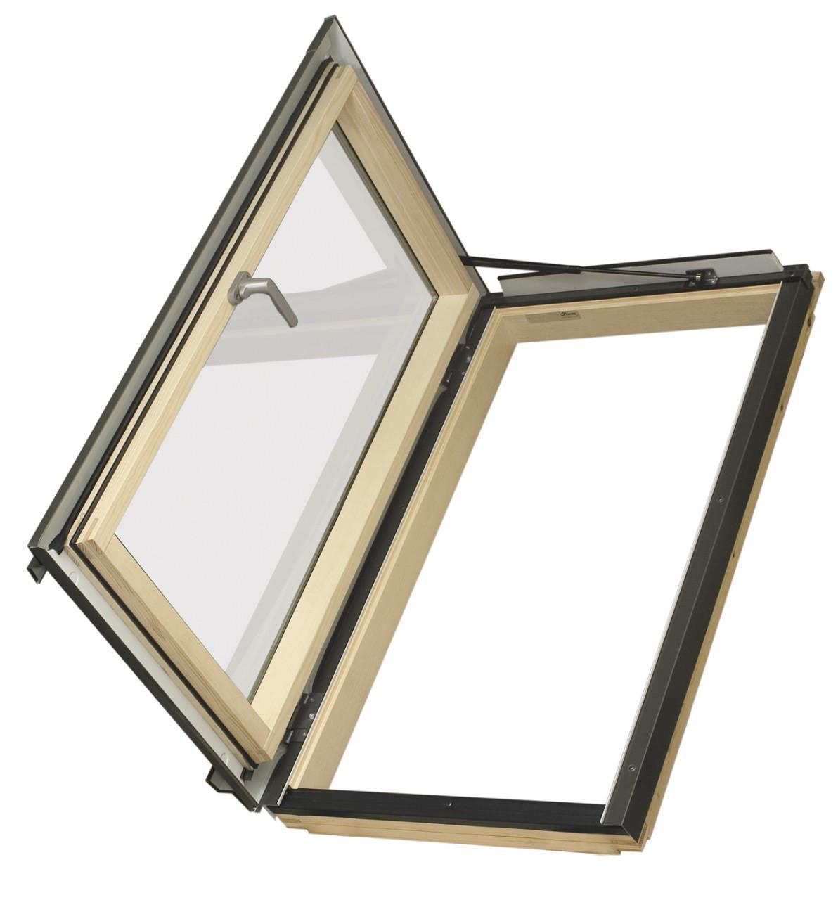 Окно-люк термоизоляционное Fakro FWL U3(левое) 66х98 см