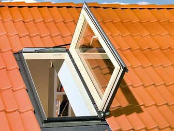 Окно-люк термоизоляционное Fakro FWL U3(левое) 66х98 см, фото 3