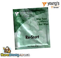 Винные дрожжи Youngs Re-Start Wine Yeast
