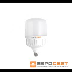 Высокомощная LED лампа ЕВРОСВЕТ 40Вт 6400К (EVRO-PL-40-6400-27)