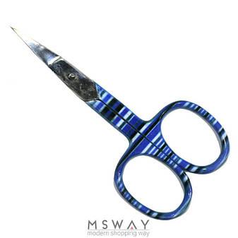 Luxury Ножницы HН-07 маникюрные ногтевые цветные прямые, фото 2