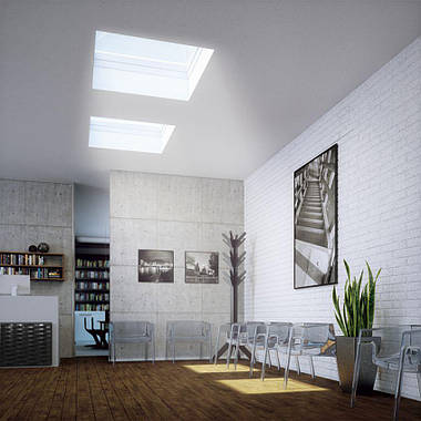 Окно для плоской крыши Fakro DEC-C U8(VSG) 60х90 см, фото 2