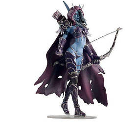 "Сільвана Ветрокрилая ""Warcraft: гнів короля Ліча"" - Sylvanas WindRunner"
