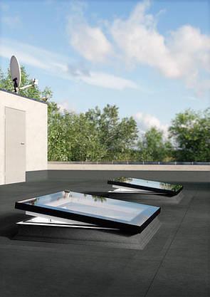 Окно для плоской крыши Fakro DMF DU6 70х70 см, фото 2