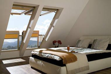Мансардное окно-балкон Fakro FGH-V P2 Galeria 94х255 см, фото 3