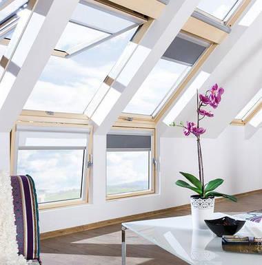 Мансардное Карнизное окно Fakro BDL L3 (левое) 78х95 см, фото 3