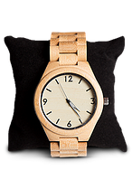 Деревянные наручные часы ручной работы WoodenWatch Numeric