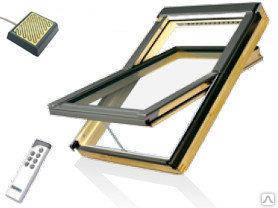 Мансардное окно Fakro FTP-V U3 Z-Wave 66х118 см, фото 2