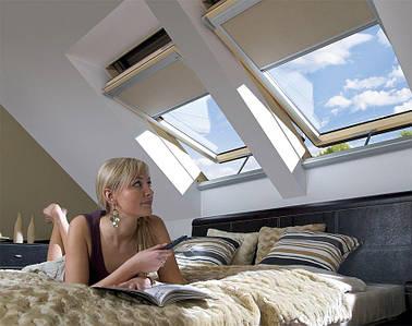 Мансардное окно Fakro FTP-V U3 Z-Wave 66х118 см, фото 3