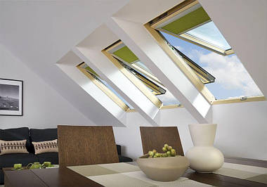 Мансардное окно FAKRO PPP-V U3 preSelect 114x118 см, фото 2