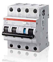 Дифференциальный автомат (дифавтомат) ABB DS203NCC6A100, 2CSR256140R2064
