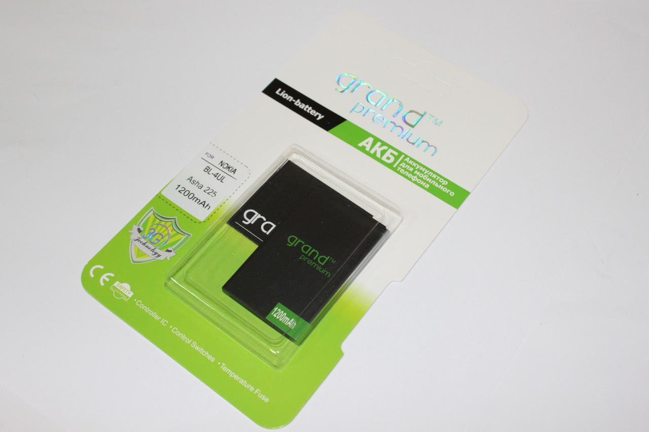 Аккумулятор GRAND Premium Nokia BL-4UL (100%)