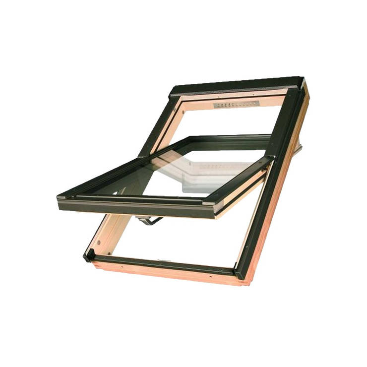 Мансардное окно FAKRO FTP-V U3 Z-Wave 78x140 см, фото 2