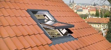 Мансардное окно FAKRO FTP-V U3 Z-Wave 78x98 см, фото 2