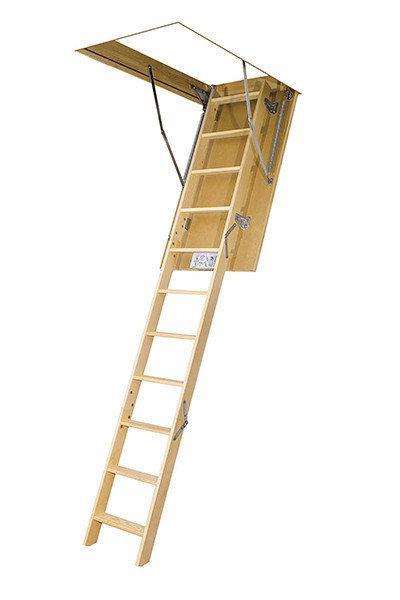Деревянная чердачная лестница FAKRO LWS Plus 70х120 (280см)