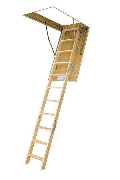 Деревянная чердачная лестница FAKRO LWS Plus 70х120 (280см), фото 2