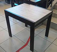 Стол обеденный СЛАЙДЕР венге / Шервуд 81,5(+81,5)х67см