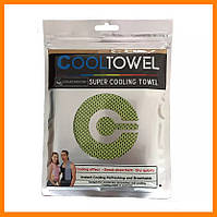 Спортивное охлаждающее быстросохнущее полотенце в пакете