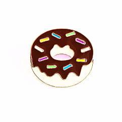 Значок Шоколадный Пончик