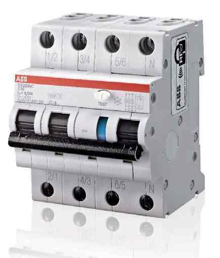 Дифференциальный автомат (дифавтомат) ABB DS203NCC25AC30, 2CSR256040R1254