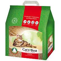 Cats Best Original древесный комкующийся наполнитель для кошек 10л