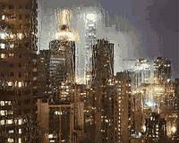 Картины по номерам 40×50 см. Гонконг в дождь Фотохудожник Кристоф Жакро
