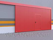 Відкатні протипожежні ворота DoorHan з класом вогнестійкості EI60, EI90