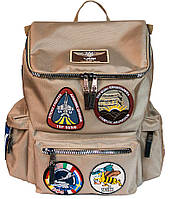 Оригинальный рюкзак Top Gun backpack with patches TGB1701 (Khaki)