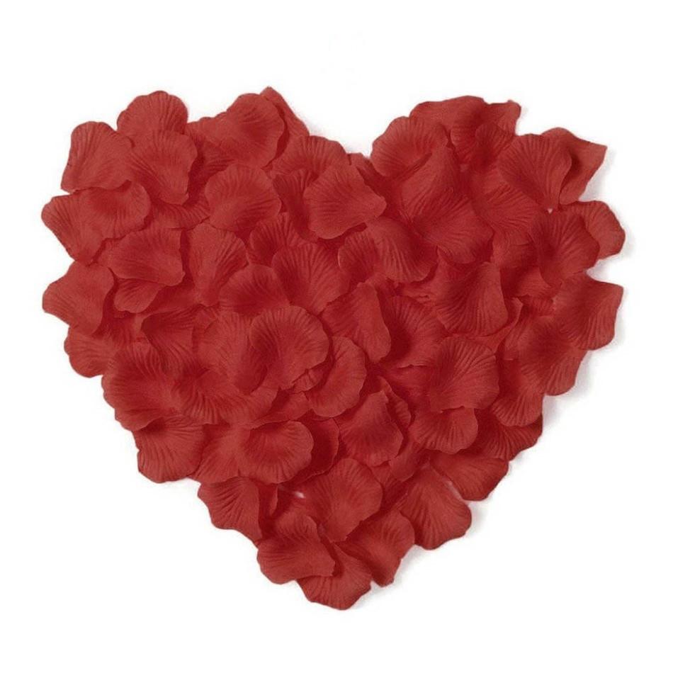 Пелюстки троянд (уп.300 шт) червоні