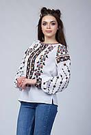 Жіноча вишита блузка з етнічним орнаментом 970f89ece1b8c