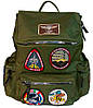 Рюкзак Top Gun backpack with patches (оливковый)
