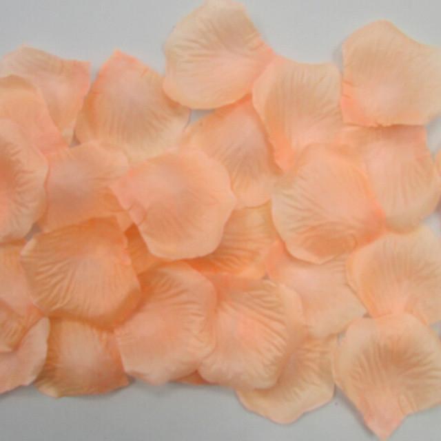 Лепестки роз (уп.300 шт) персиковые