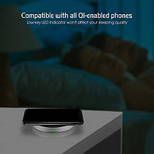 Беспроводная зарядка DESTEK для iPhone & Samsung (7.5W для iPhone X 8 8plus, 10W для S9+ S8 Note8), фото 2