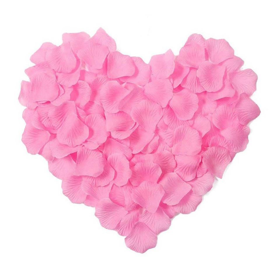 Лепестки роз (уп.300 шт) розовые