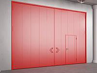 Распашные противопожарные ворота DoorHan с классом огнестойкости EI90, EI120, фото 1