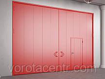 Распашные противопожарные ворота DoorHan с классом огнестойкости EI90, EI120