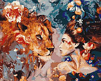 Картины по номерам 40×50 см. Ароматный зов Художник Димитра Милан