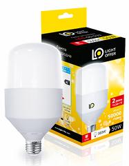 """LED лампа, 30 W, E27 TM """"Lightoffer"""""""