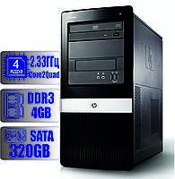 Системный блок HP 4 ядра 2.33 GHz/4Gb-DDR3/HDD-320Gb