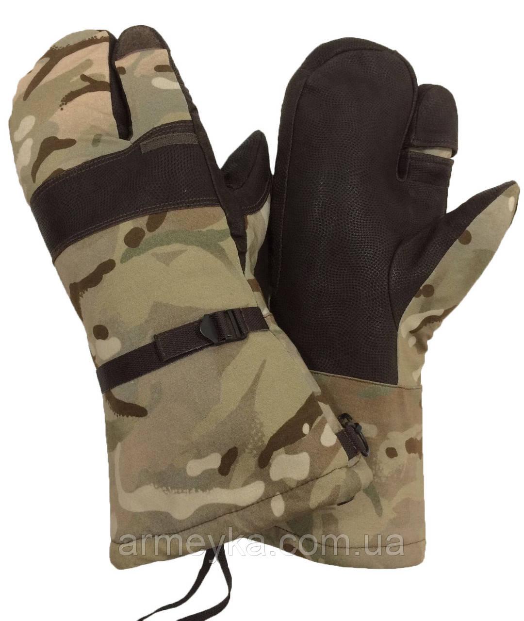 Трехпалые мембранные (Gore-tex) рукавицы МТР. Великобритания, оригинал