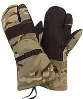 Трехпалые мембранные (Gore-tex) рукавицы МТР. Великобритания, оригинал, фото 1