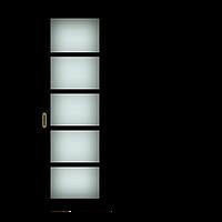 Одностворчатые раздвижные двери «Калипсо»