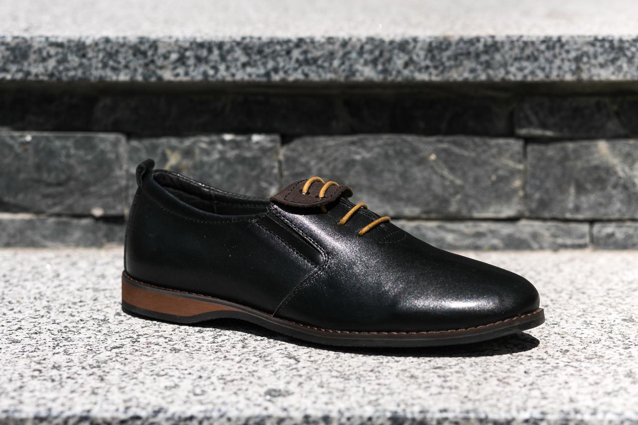 Шкіряне взуття від українського виробника- замовляй туфлі відмінної якості! Остання пара 41 розмір!
