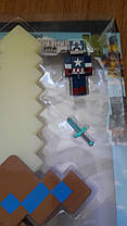 Золотой Меч Майнкрафт Свет Звук. Меч Minecraft, фото 3