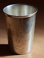 Стопка из серебра 875 пробы, столовое серебро