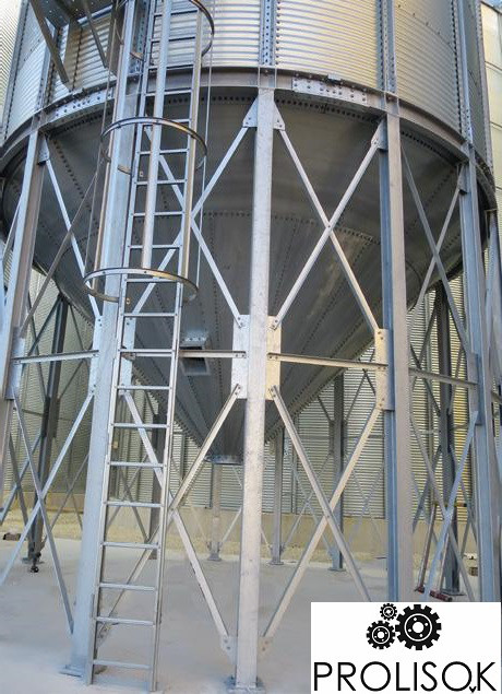Бункер для хранения фуражного зерна 182 т