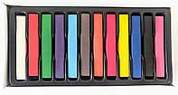 Мелки для волосHair Chalk пастель набор 12 цветов