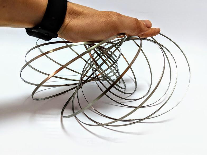 Торофлакс, Toroflux, кинетическая игрушка, антистресс, Magic Ring