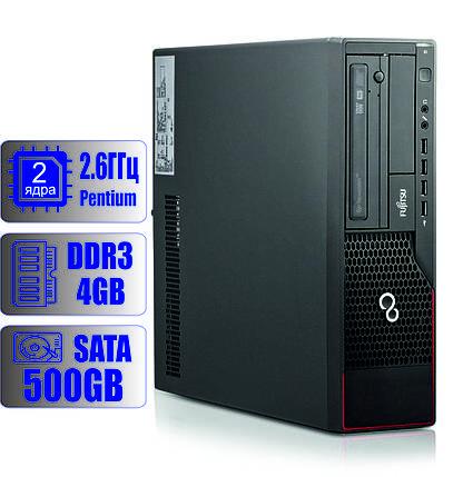 Системный блок Fujitsu 2-ядра 2.6GHz/4Gb-DDR3/HDD-500Gb, фото 2