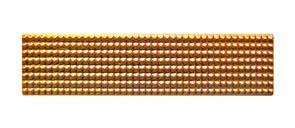 Лычка солдатская узкая золото
